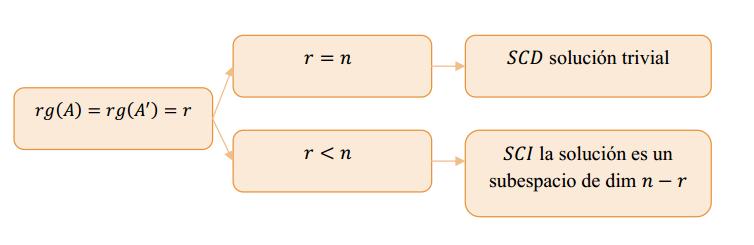 analisis de compatibilidad de un sistema homogeneo