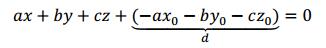 ecuacion de un plano en r3