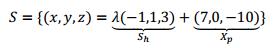 soluciones de sistema homogeneo y sistema no homogeneo