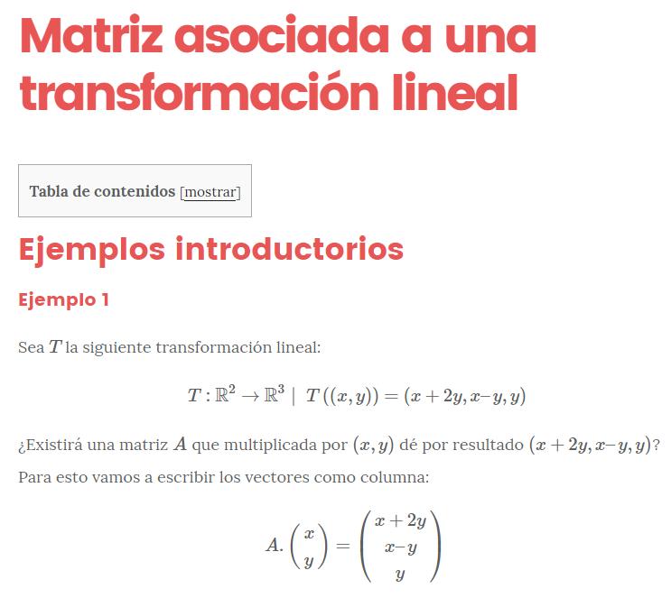 Nucleo y rango de una matriz pdf