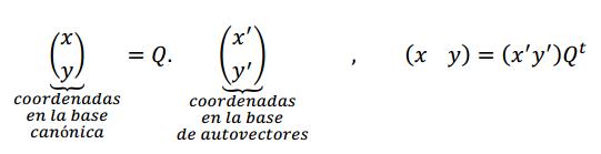 cambio de coordenadas rototraslacion