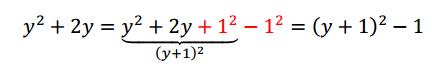 completar cuadrados 2