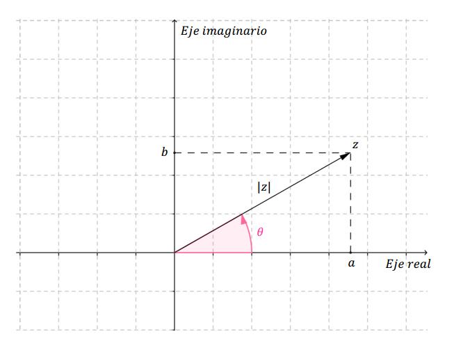 forma trigonometrica de un numero complejo