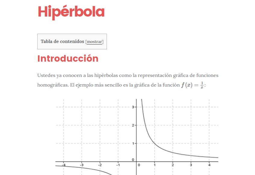 Hipérbola: definición, ecuaciones, elementos y gráfica [Guía paso a ...