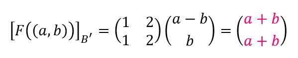 matriz asociada a una transformacion lineal 123