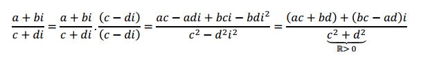 producto de numeros complejos