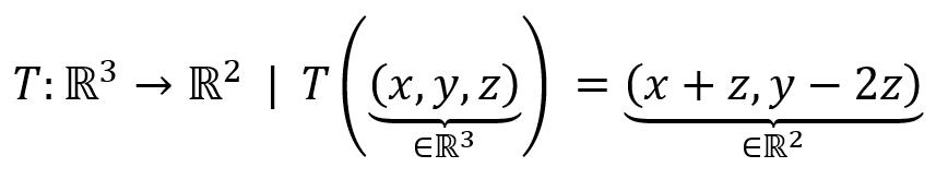 transformacion lineal - es tl o no es tl